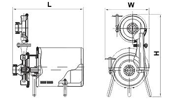 Самовсасывающие центробежные насосы ОНЦ1-С